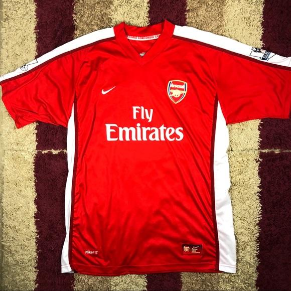best cheap 47048 5d20f Nike ARSENAL FC CESC FABREGAS Home Soccer Jersey